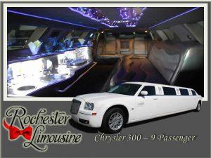 Rochester-limos-chrysler-300-9-passengers