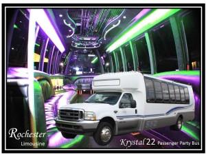 Utica party bus