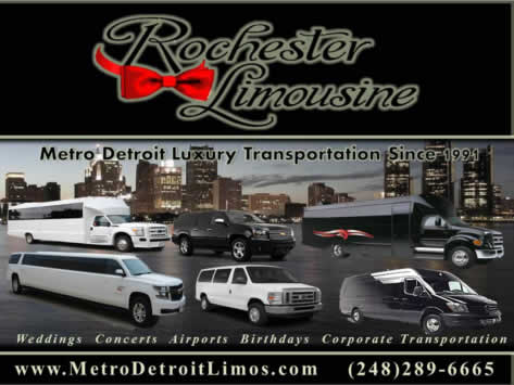 Rochester Limousine Photo Gallery | Rochester, MI
