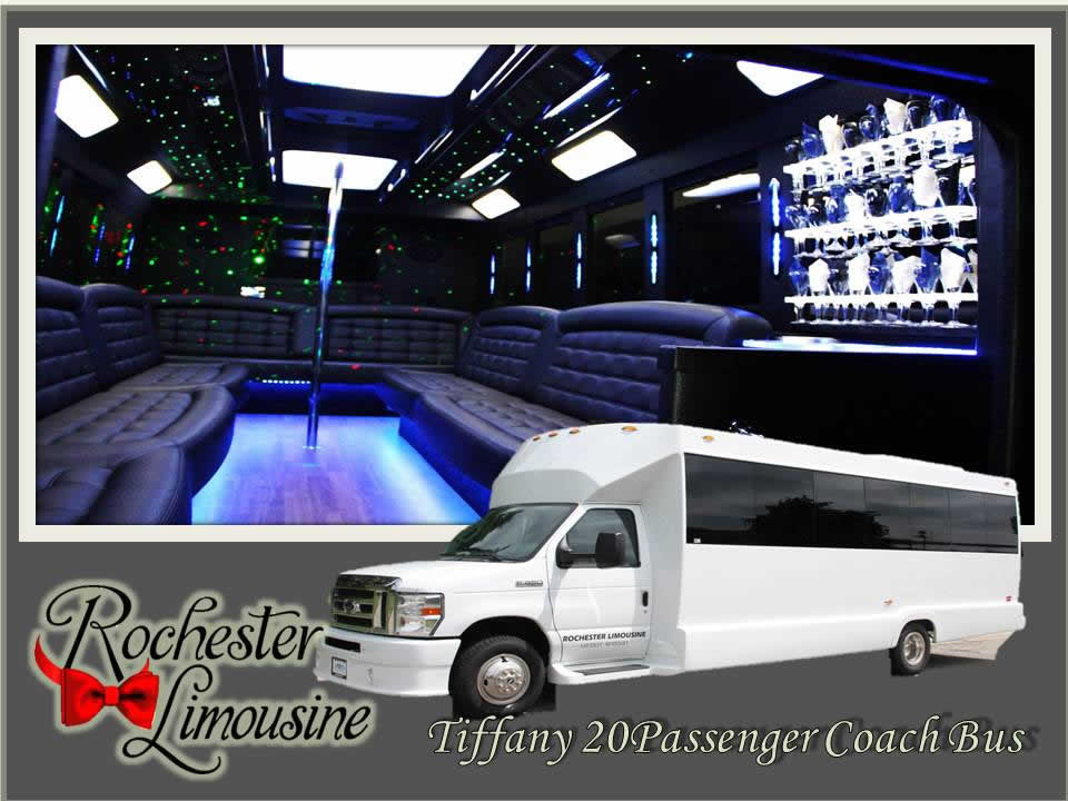 Rochester-limos-Tiffany-20-passenger-party-bus