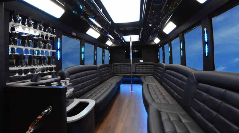 Farmington Hills Party Bus Rental